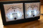 Vúmetro analógico y el reloj (Arduino Powered)