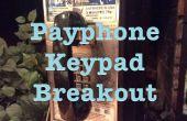 Desbloqueo de teclado del teléfono público