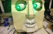 Ojos de Animatronic y Wii Nunchuck parte 2 - le dan una voz