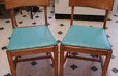 Barnizadas sillas de segunda mano tienda