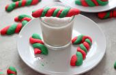 Las Cookies de bastón de caramelo de menta
