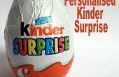 Regalo personalizado de Kinder sorpresa