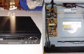 Convertir reproductor de DVD roto en un recinto accesorio para tu Home Theater PC