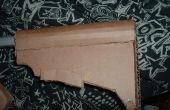 Cómo hacer una culata de M4 carabina extensible de cartón