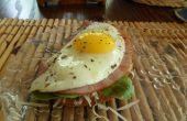 Sándwich de huevo 5 minutos