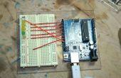Árbol de luz de Drag Race Arduino