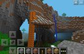 Perfecto mundo de un adoquín piedra generador Minecraft Pe