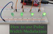 Cómo se utiliza la modulación por ancho de pulso