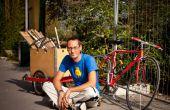Remolque de bicicleta para el transporte de carga pesada
