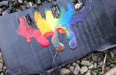 Arco iris Crayon derretir