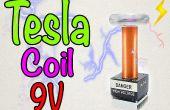 Cómo hacer una mini bobina Tesla 9V