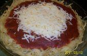 Pastel de espaguetis sencillos