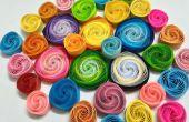 Cómo hacer quilling bobinas vortex