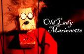 Marioneta de la vieja señora