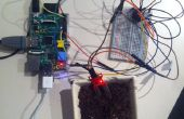 Pi de frambuesa entrada sensor análogo usando un MCP3008: programa de cableado/instalación/basic