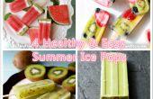 4 fácil y saludable verano Ice Pops