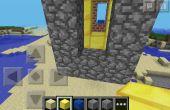 Zona de intercambio de Minecraft: cohete