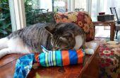 Juguete gato rizado de cubierta del paraguas