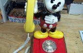 Mickey Mouse Rotary teléfono celular
