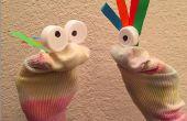 Marioneta del calcetín DIY