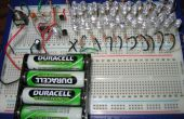 41 interruptor intermitente el LED del circuito con 555 IC