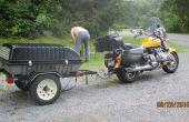 Construir un remolque detrás de una moto o coche pequeño Trailer