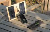 Cargador solar programable