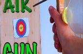 Como hacer un rifle de aire con una botella de plástico