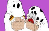 Cómo dibujar la banda de Iblesnuts para Halloween