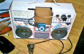 Mi Cardboad estéreo altavoz para MP3 player y mi celular