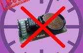 ¿TimeKeeping en ESP8266 & arduino uno sin un RTC (reloj en tiempo Real)?
