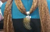 Simple bufanda de la joyería