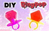 DIY Ring Pop y joyas comestibles - piruletas caseras y dulces!