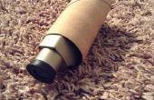 Telescopio de rollo de papel higiénico