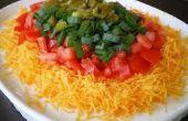 Muy fácil, un minuto, tres ingrediente mexicano Dip