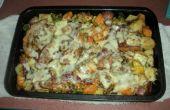 Cazuela de verduras pollo con BACON