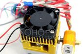 Desatascar el inyector de la impresora 3D con vapor en 10 minutos