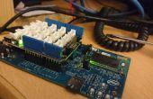 Intel Edison temperatura controlada Relais
