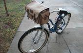 """""""Vieja escuela"""" decorando estilo militar bolsa de manillar de bicicleta - Skate antiguo, bolso de la cámara y bicicleta Mash Up!"""