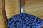 Cómo volver a cubrir sillas