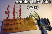 Arduino: LED Cube 3 x 3 x 3