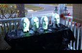 Arduino powered Haunted mansión canto Bustos