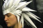 Construcción y diseño integral de Papercraft Anime pelucas