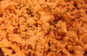 Cómo hacer palomitas de maíz ajo! (14 minutos)
