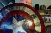 Sin embargo otro escudo del Capitán América... para bastante barato.