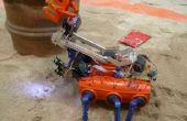 Cangrejo robot (limpieza de playas)