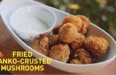 Cómo hacer setas Fried Panko-Crusted (Video)