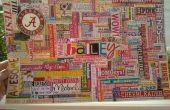 Primer año de carrera de Bailey la palabra Collage