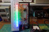 Arduino - termómetro analógico de LED
