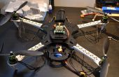 Un Quadcopter de gato muerto SK450 para llamar a su propia